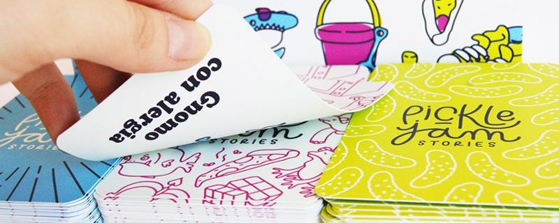 Pickle Jam juego de cartas creativo